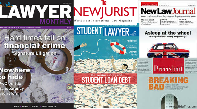 The 5 Must Read Magazines For Law Students