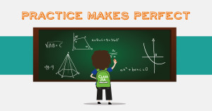 Mathematics Practice Makes you Perfect - Does it really apply?