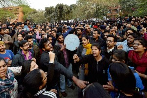 Why student politics in JNU is so vibrant than IITs and IIMs?